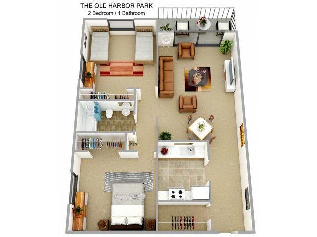 , ,   bedroom apartments in boston ma  harbor point on the, Bedroom designs