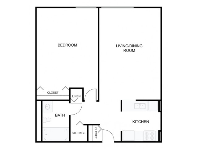 One Bedroom - Type A