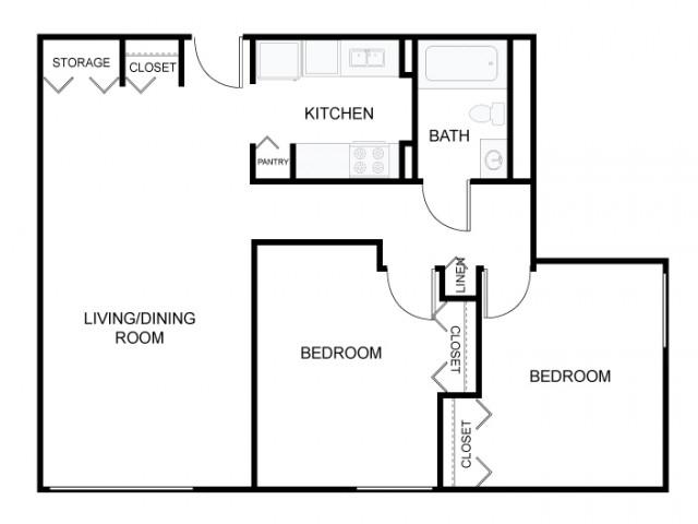 Two Bedroom - Type B