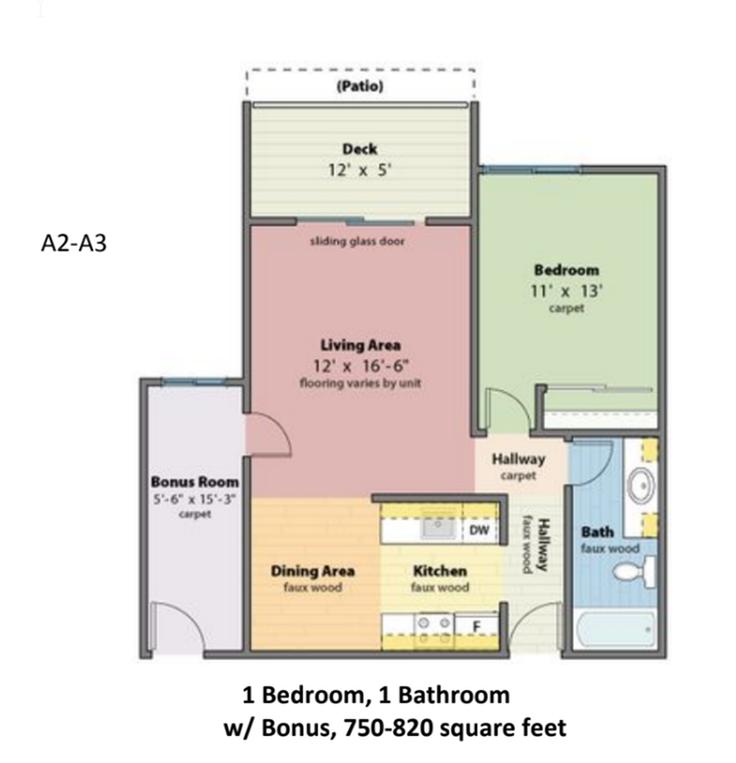 A-2-A-3 Floorplan