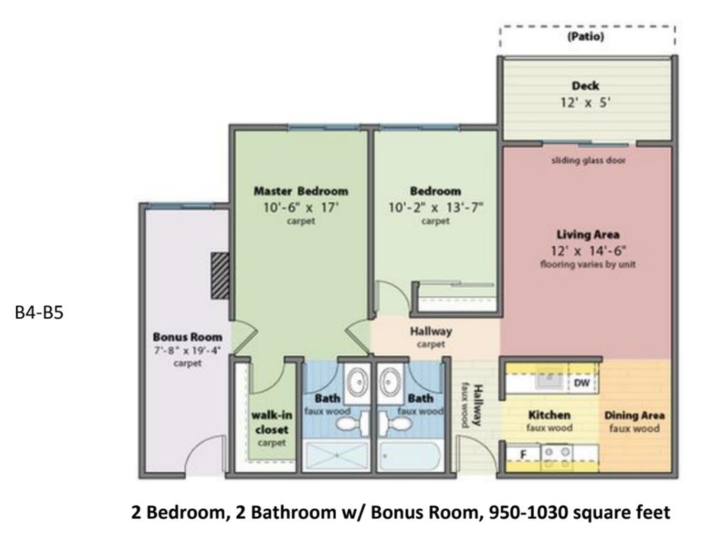 B-4-B-5 Floorplan