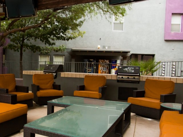 Image of Cabana With Gas BBQ Grills for Stone Avenue Standard