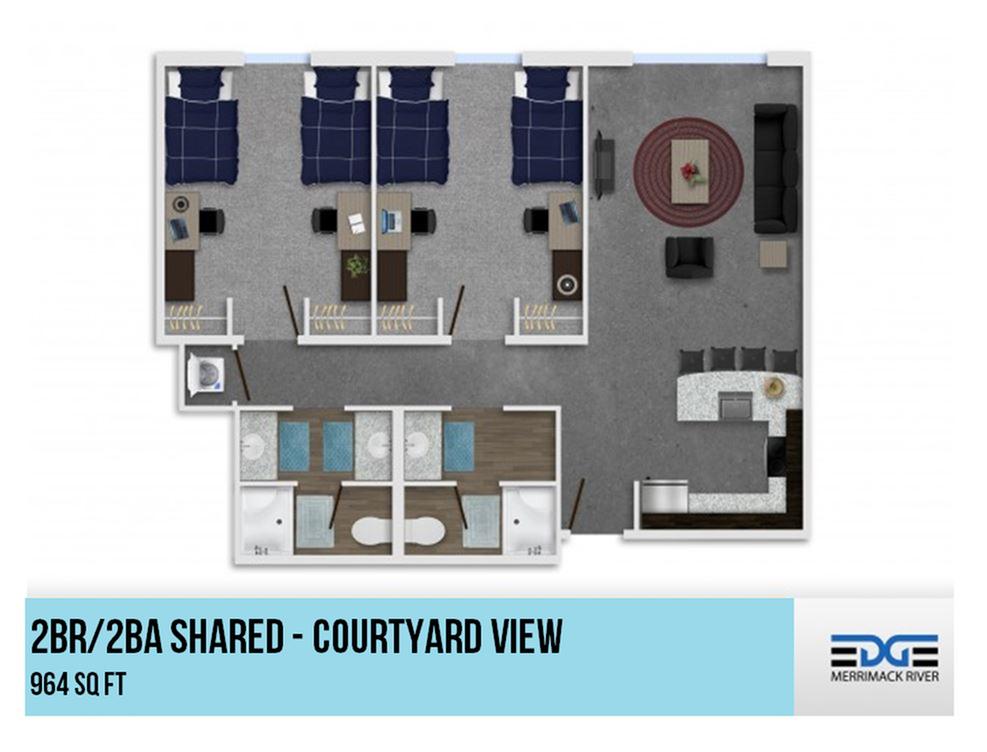 2x2 - Shared Courtyard