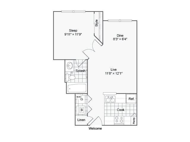 The Urban Apartment Homes Apartments For Rent Phoenix AZ 85008 Floor Plan. Floor Plan Layout   The Urban Apartment Homes for Rent in Phoenix