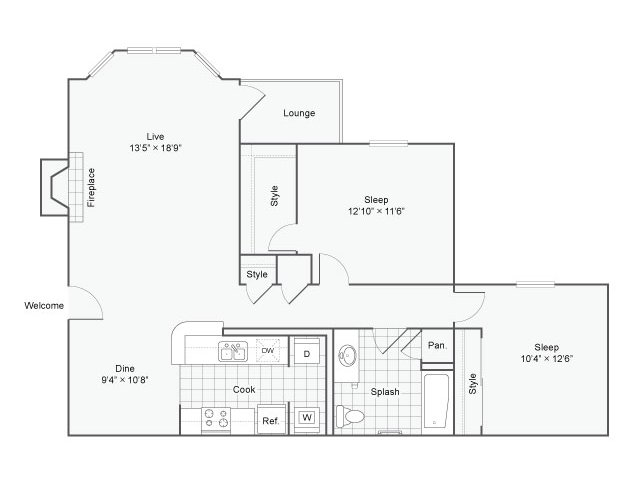 Floor Plan 2 | Haven