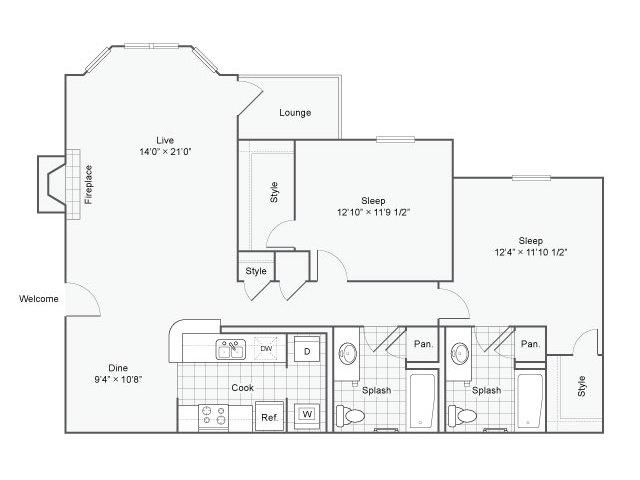 Floor Plan 3   Haven