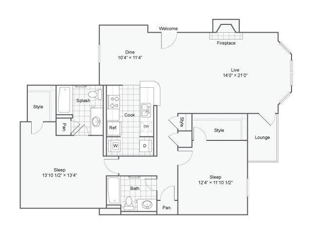 Floor Plan 4 | Haven
