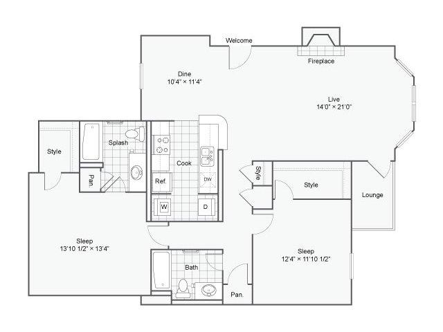 Floor Plan 4   Haven
