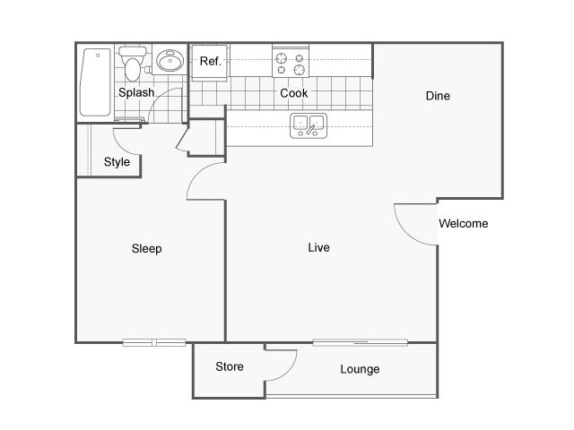Floor Plan 2 | Falls at Arden