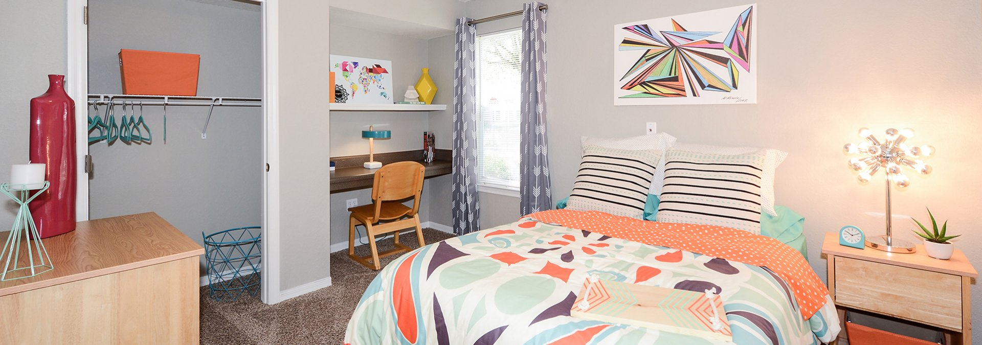 Spacious Bedroom | USF Off Campus Housing | The Social at South Florida