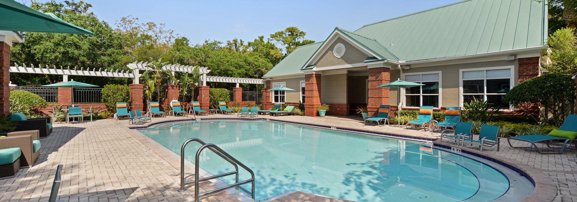 Sparkling Pool | USF Apartments | The Social at South Florida
