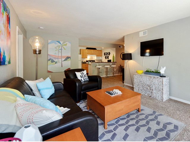 """Image of 40\"""" LCD TV Included In Common Living Area for The Social at South Florida"""