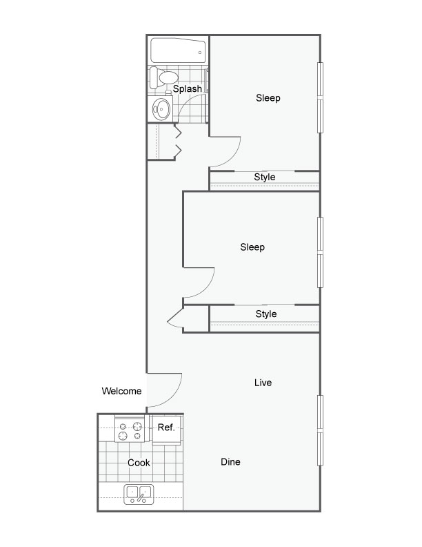 Ten30 Apartments Apartments For Rent Broomfield CO 80020 Floor Plan