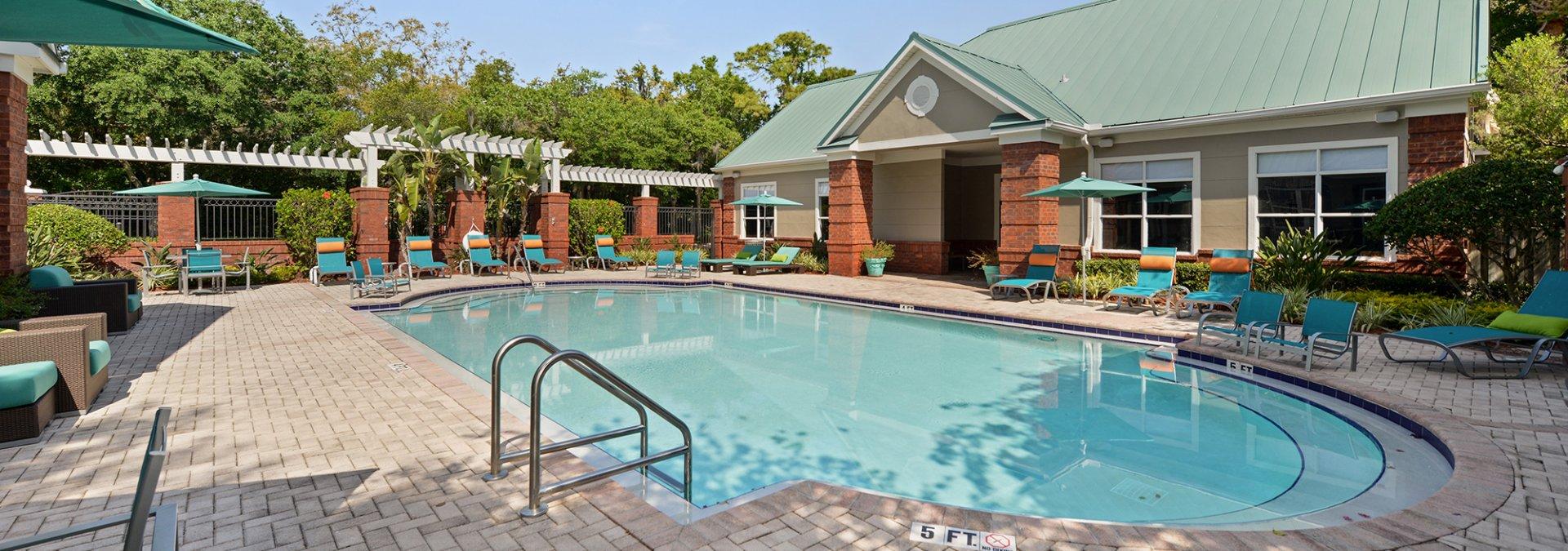 Resort Style Pool | Apartments Near USF | The Social at South Florida