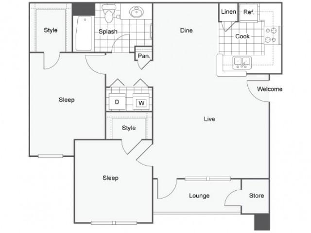 Oceanside apartment capella at rancho del oro luxury for Rimodernato ranch di entrata del ranch
