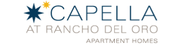 Logo | Luxury Apartments In Oceanside CA | Capella at Rancho Del Oro