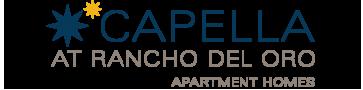 Logo | Luxury Apartments In Oceanside CA | Capella at Rancho Del Oro