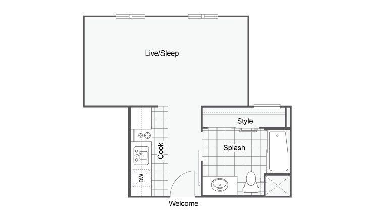 Unit 3b | Apartments For Rent In San Diego | The Studios