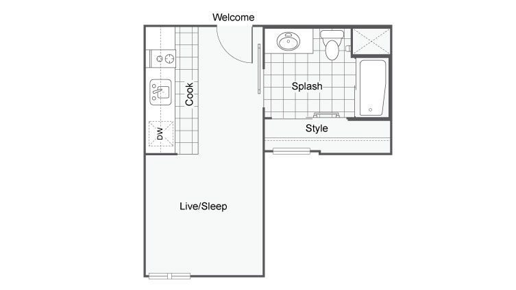 Unit 10 | Apartments For Rent In San Diego | The Studios