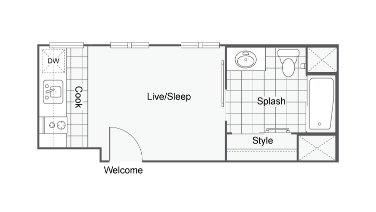 Unit 14 | Apartments For Rent In San Diego | The Studios