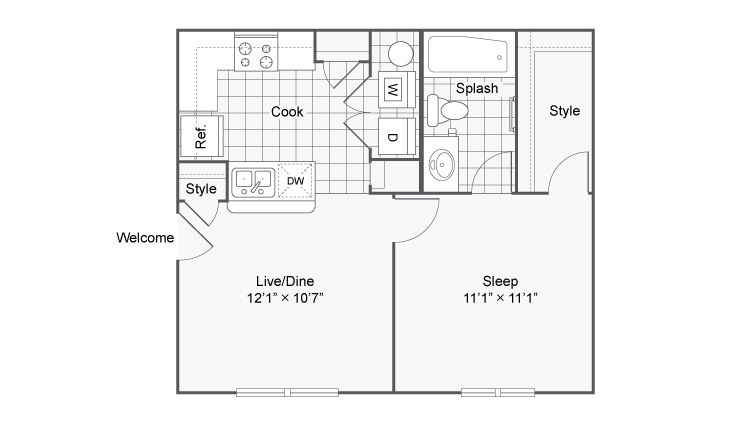 Floor Plan 8   The Social at Aurburn