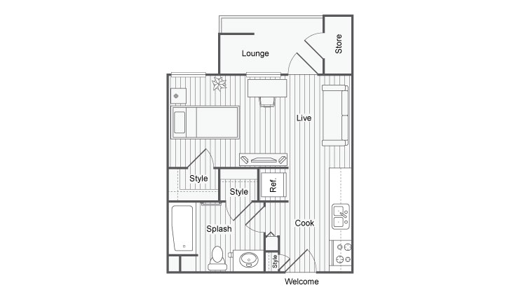 Floor Plan | Fifty Twenty Five