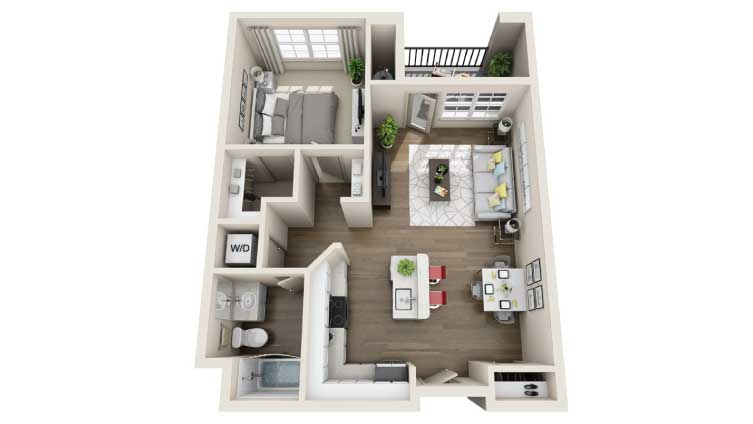 The Apartments at Los Carneros