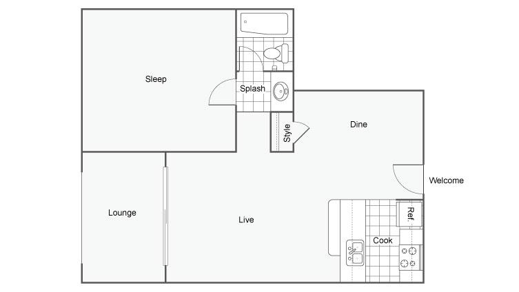 Arrive 800 Penn An Apartment Community Apartments For Rent Denver CO 80203 Floor Plan