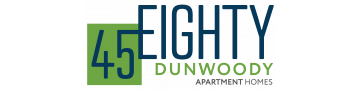 45Eighty Dunwoody Apartment Homes Logo | Apartments For Rent Dunwoody GA | 45Eighty Dunwoody Apartment Homes