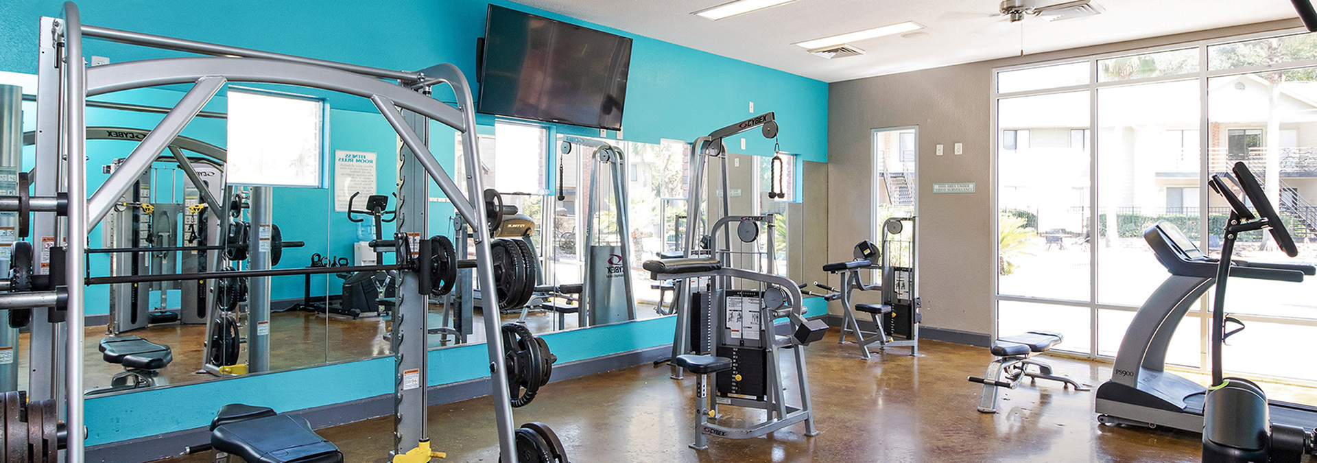 State-of-the-Art Fitness Center | Apartments Near FSU | Dwell Tallahassee Student Living