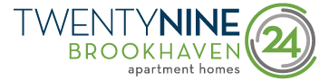 TwentyNine24 Brookhaven Logo | Brookhaven Apartments Atlanta GA | TwentyNine24 Brookhaven