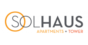 Solhaus Apartments Logo | 1 Bedroom Apartments Minneapolis MN | Solhaus Apartments