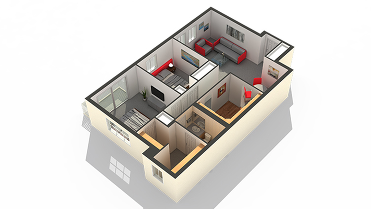 Floor Plan   Apartments In Highwood IL   Arrive North Shore