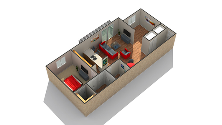 Floor Plan | Apartments For Rent Near Naperville IL | Fifteen98 Naperville Apartment Homes