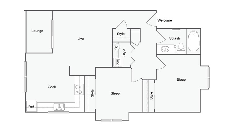 The Habitat @ Fort Collins | Apartments for Rent in Ft ... on landscape house plans, 30 x 30 house plans, fish house plans, water house plans, color house plans, central garden house plans, victorian garden house plans, nature house plans, permaculture house plans, home house plans, 4 bedroom house floor plans, one man house plans, reptile house plans, woodland house plans, unique ranch style house plans, forest house plans, birds house plans, traditional house plans, small house plans, 4-bedroom ranch house plans,