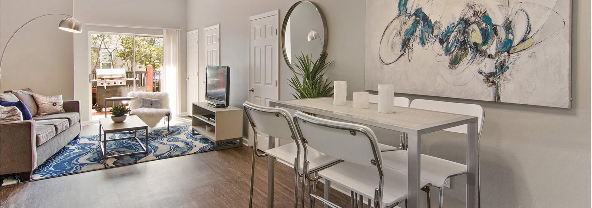 Elegant Master Bedroom | Luxury Apartments Tallahassee Near FSU | The Venetian Student Living