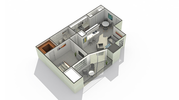 Floor Plan And Availability The Mark Apartments Apartment Homes For Rent In Glendale Heights Il 60139