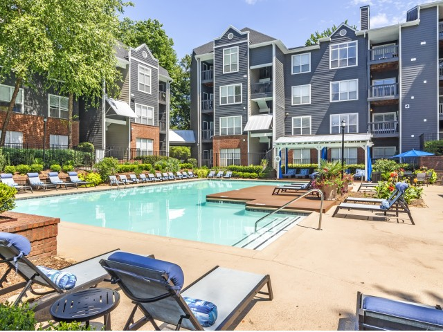 Image of Resort Style Swimming Pool for Arrive Buckhead Luxury Apartment Homes