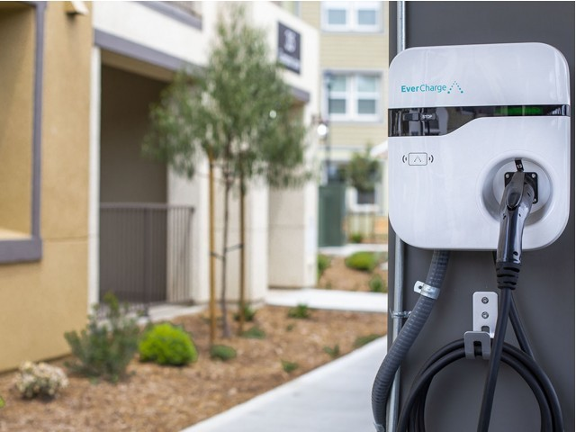 Image of Electric Vehicle Charging Stations for Arrive Los Carneros