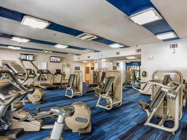 Image of State-of-the-Art Fitness Center for TwentyNine24 Brookhaven Apartment Homes