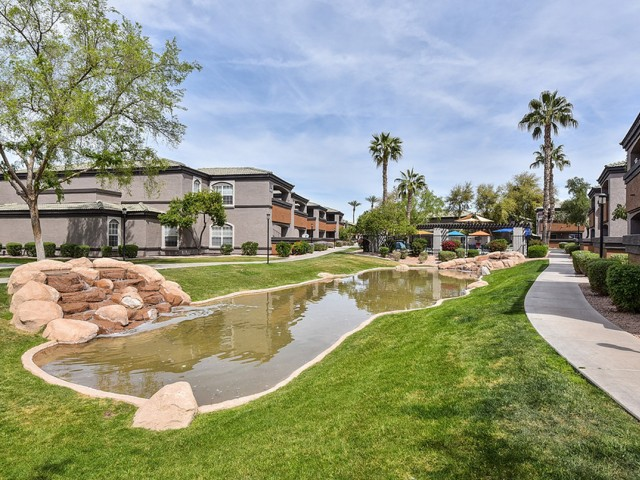 Image of Picturesque Community Ponds for Arrive Ocotillo