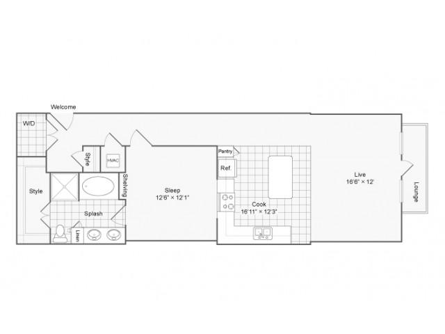 Floor Plan   Arrive River Oaks Apartment Homes for Rent in Houston TX 77098