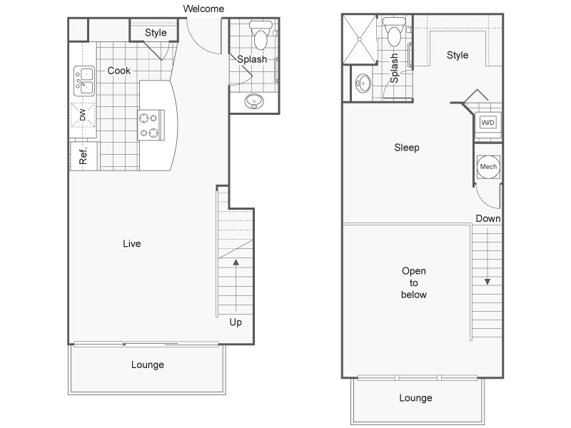 Floor Plan 17 | Studio Apartments Downtown Wichita KS | ReNew Wichita