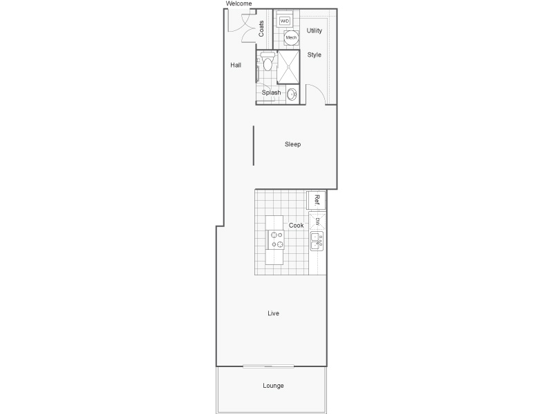 Floor Plan 18 | Wichita Kansas Apartments | ReNew Wichita