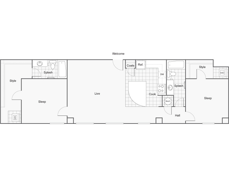 Diverse Floor Plans | Apartments Downtown Wichita KS | ReNew Wichita