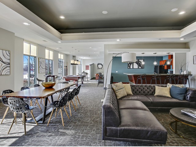 Image of Clubroom for Arrive Watertower Luxury Apartments