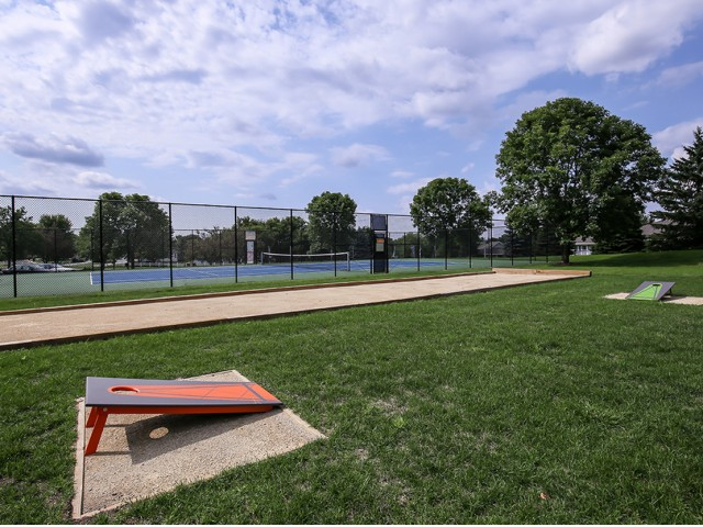 Image of Outdoor Game Area for The Fitzgerald Apartment Homes