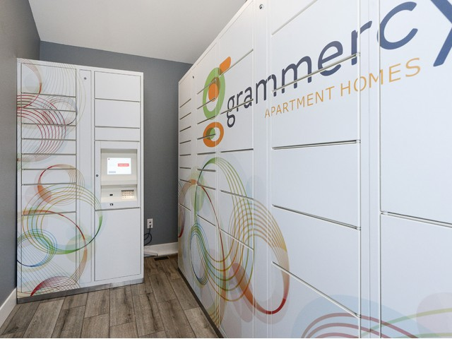 Image of Electronic Locker System for Grammercy Apartment Homes