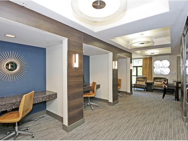 Image of Business Suite/Lounge for The Mille Brookhaven Apartment Homes