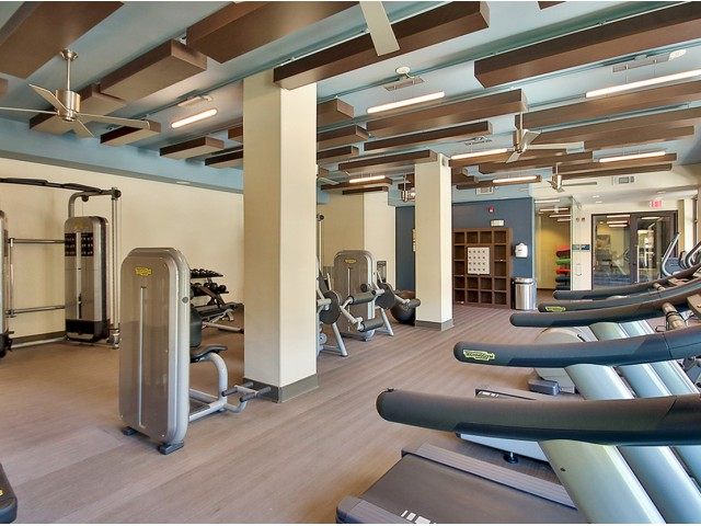 Image of Fitness Center for The Mille Brookhaven Apartment Homes